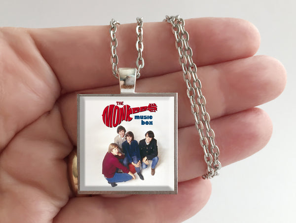 The Monkees - Music Box - Album Cover Art Pendant Necklace - Hollee