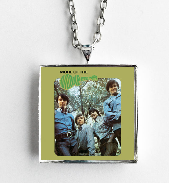 The Monkees - More of the Monkees - Album Cover Art Pendant Necklace