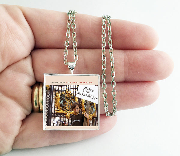 Morrissey - Low in High School - Album Cover Art Pendant Necklace - Hollee