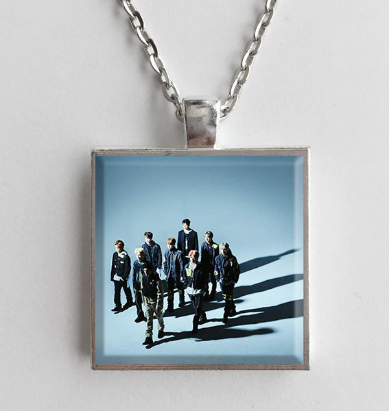 NCT 127 - Superhuman - Album Cover Art Pendant Necklace - Hollee