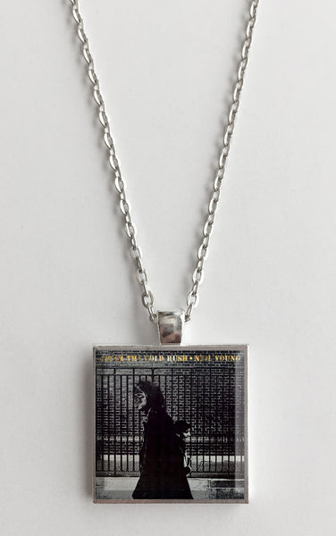 Neil Young - After the Gold Rush - Album Cover Art Pendant Necklace