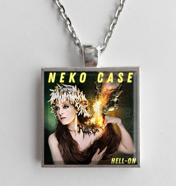 Neko Case - Hell On - Album Cover Art Pendant Necklace - Hollee