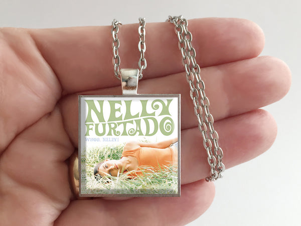 Nelly Furtado - Whoa, Nelly! - Album Cover Art Pendant Necklace - Hollee