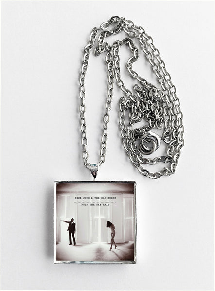 Nick Cave & The Bad Seeds - Push the Sky Away - Album Cover Art Pendant Necklace - Hollee