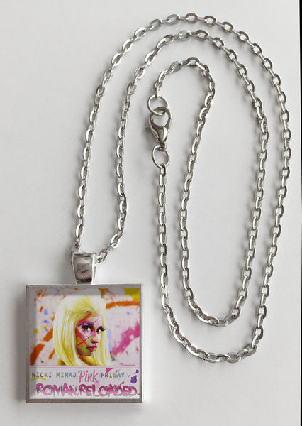 Nicki Minaj - Pink Friday Roman Reloaded - Album Cover Art Pendant Necklace - Hollee