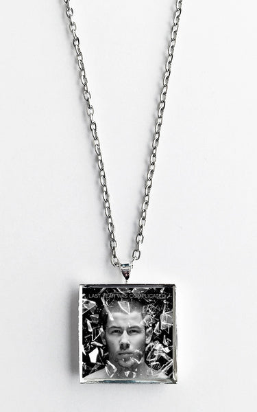 Nick Jonas - Last Year Was Complicated - Album Cover Art Pendant Necklace - Hollee