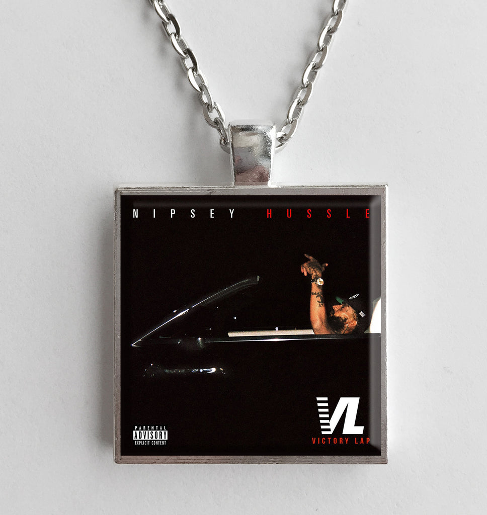 Nipsey Hussle - Victory Lap - Album Cover Art Pendant Necklace - Hollee