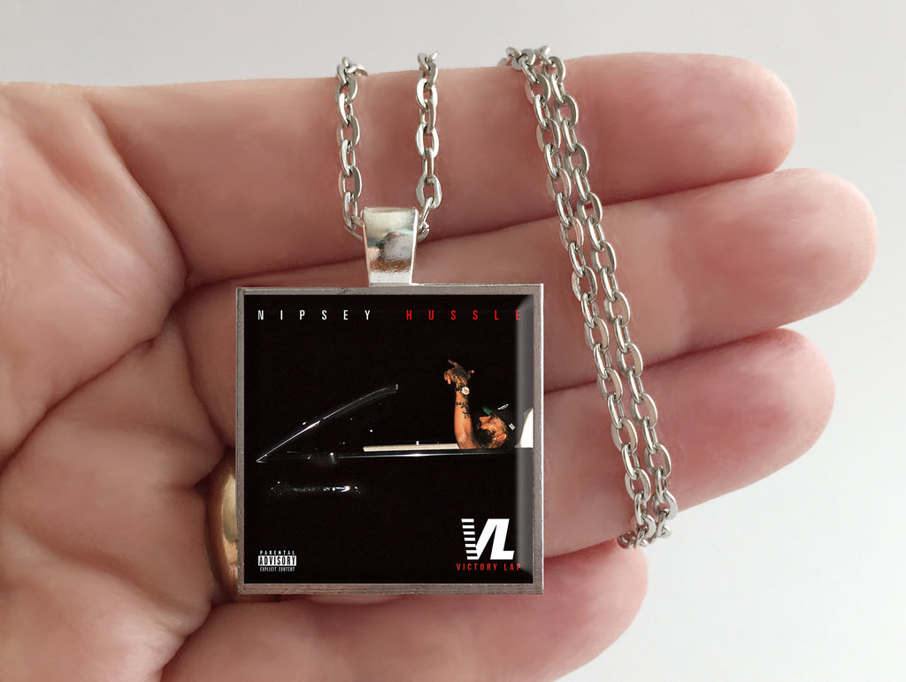 Nipsey Hussle - Victory Lap - Album Cover Art Pendant Necklace
