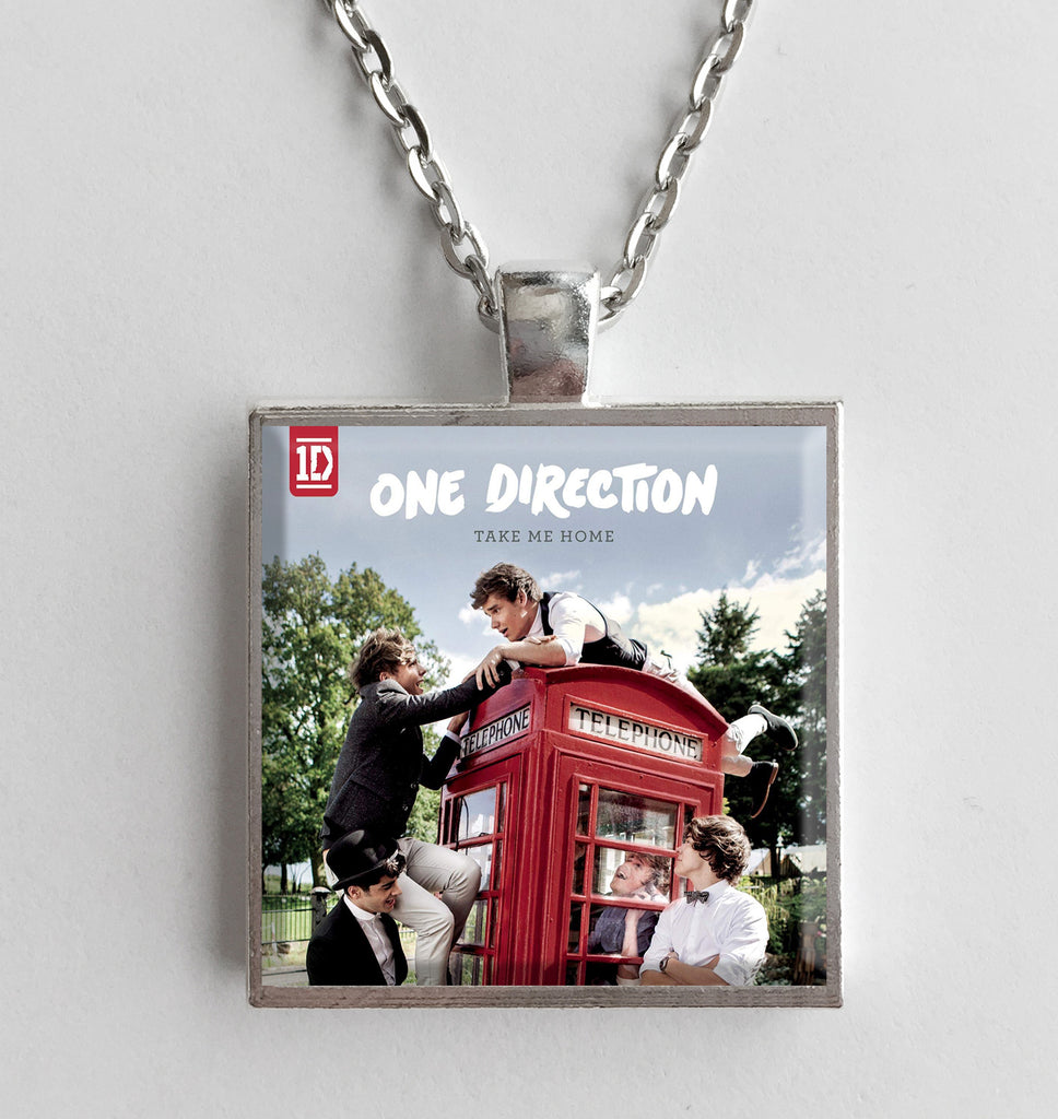 One Direction - Take Me Home - Album Cover Art Pendant Necklace - Hollee