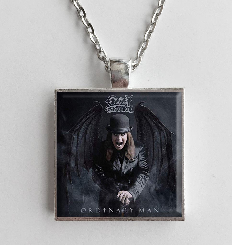 Ozzy Osbourne - Ordinary Man - Album Cover Art Pendant Necklace - Hollee