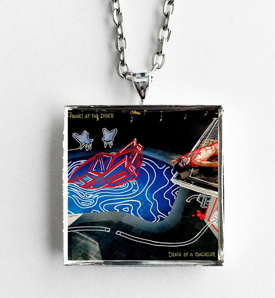 Panic at the Disco - Death of a Bachelor - Album Cover Art Pendant Necklace - Hollee