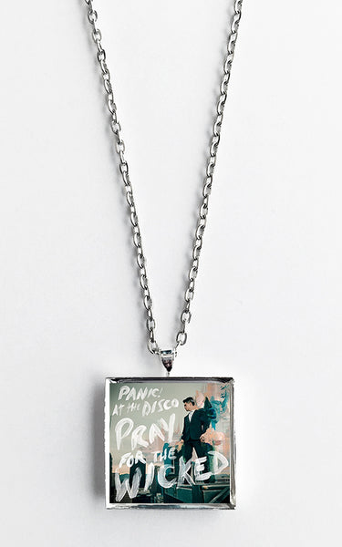 Panic at the Disco - Pray for the Wicked - Album Cover Art Pendant Necklace