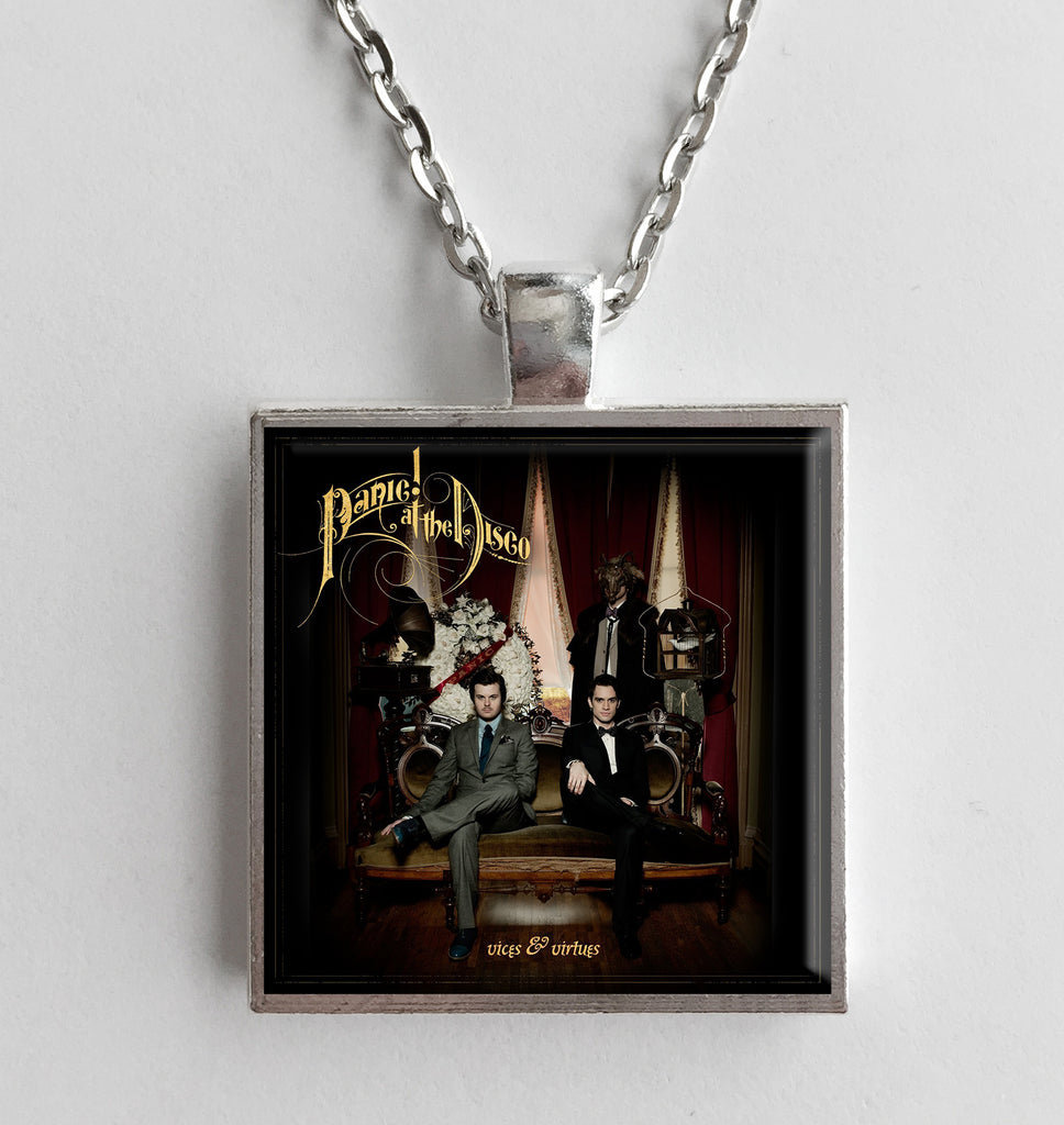Panic at the Disco - Vices & Virtues - Album Cover Art Pendant Necklace - Hollee