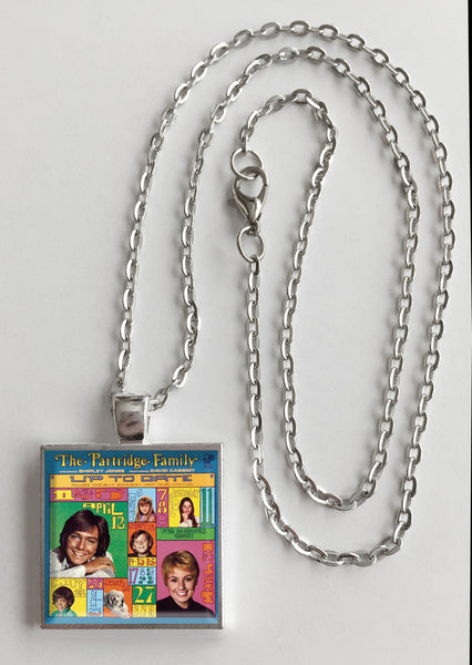 The Partridge Family - Up to Date - Album Cover Art Pendant Necklace - Hollee