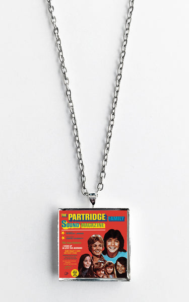 The Partridge Family - Sound Magazine - Album Cover Art Pendant Necklace