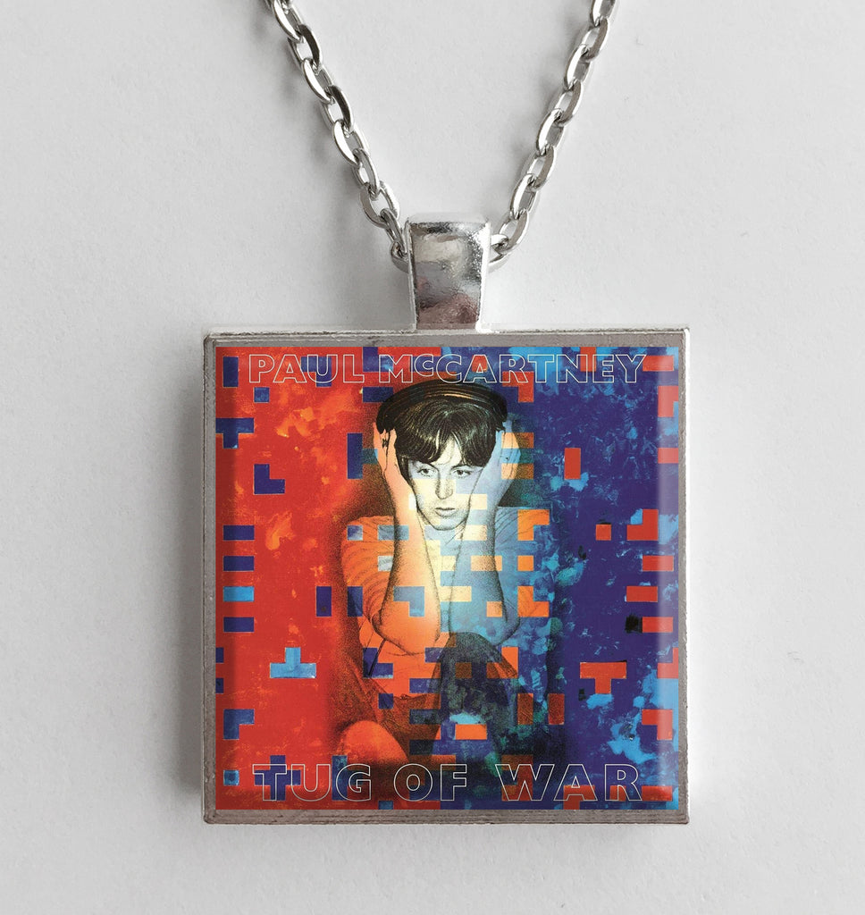 Paul McCartney - Tug of War - Album Cover Art Pendant Necklace - Hollee