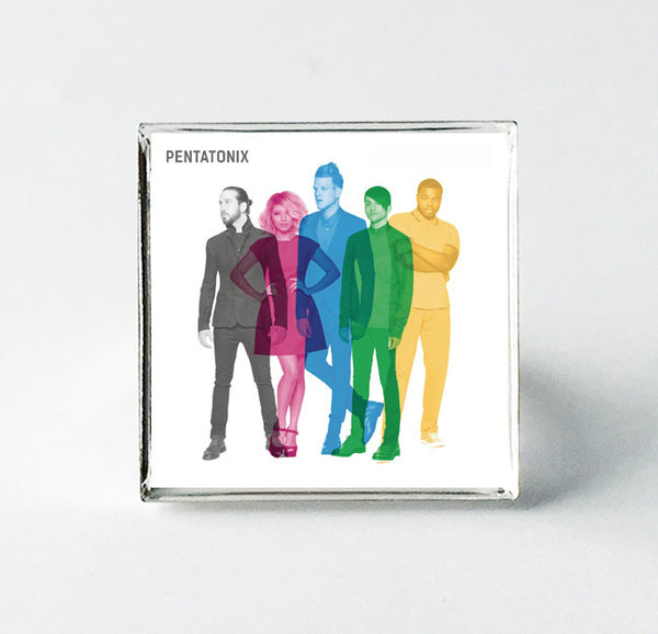Pentatonix - Self Titled - Album Cover Art Adjustable Ring