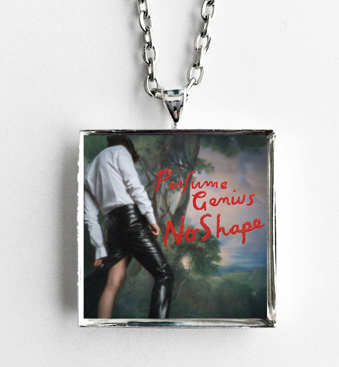 Perfume Genius - No Shape - Album Cover Art Pendant Necklace