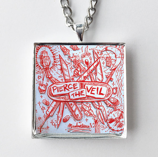 Pierce the Veil - Pierce the Veil - Album Cover Art Pendant Necklace - Hollee