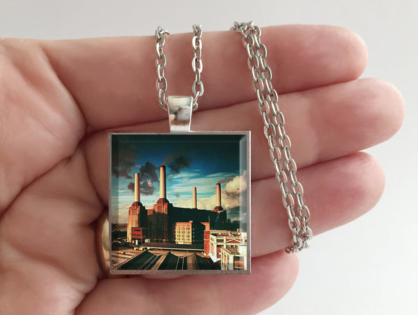 Pink Floyd - Animals - Album Cover Art Pendant Necklace - Hollee