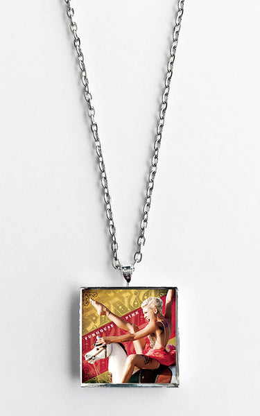 P!nk - Funhouse - Album Cover Art Pendant Necklace - Hollee