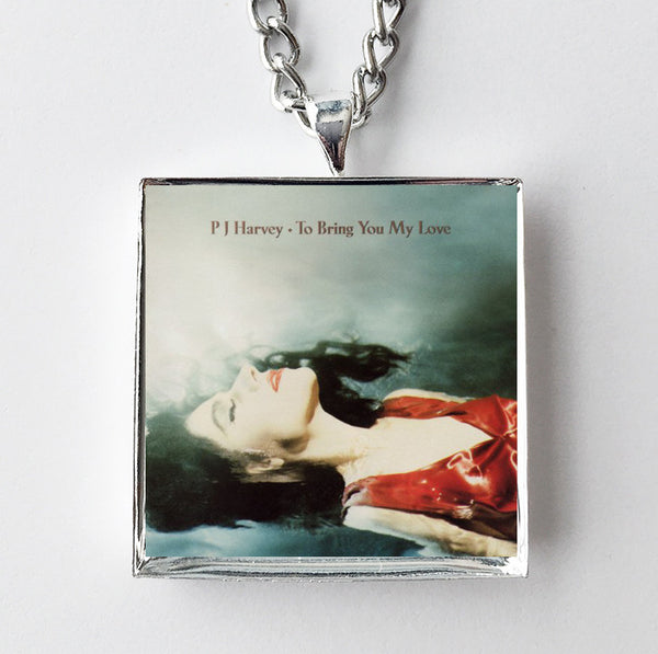 PJ Harvey - To Bring You My Love - Album Cover Art Pendant Necklace
