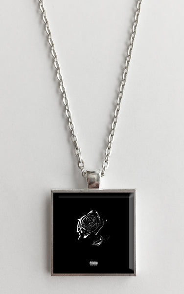 Pop Smoke - Shoot for the Stars, Aim for the Moon - Album Cover Art Pendant Necklace