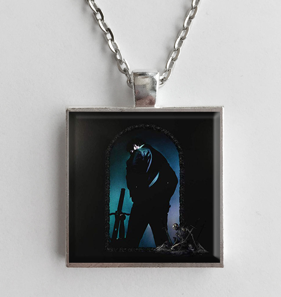 Post Malone - Hollywood's Bleeding - Album Cover Art Pendant Necklace - Hollee