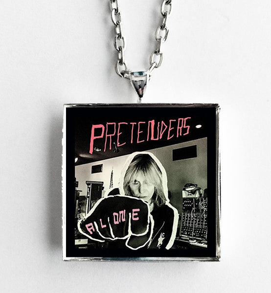 Pretenders - Alone - Album Cover Art Pendant Necklace