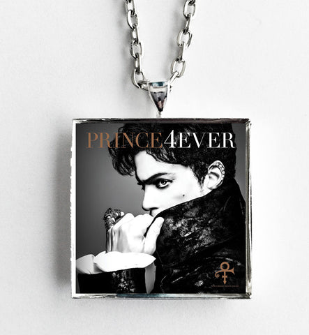 Prince - Prince 4Ever - Album Cover Art Pendant Necklace - Hollee