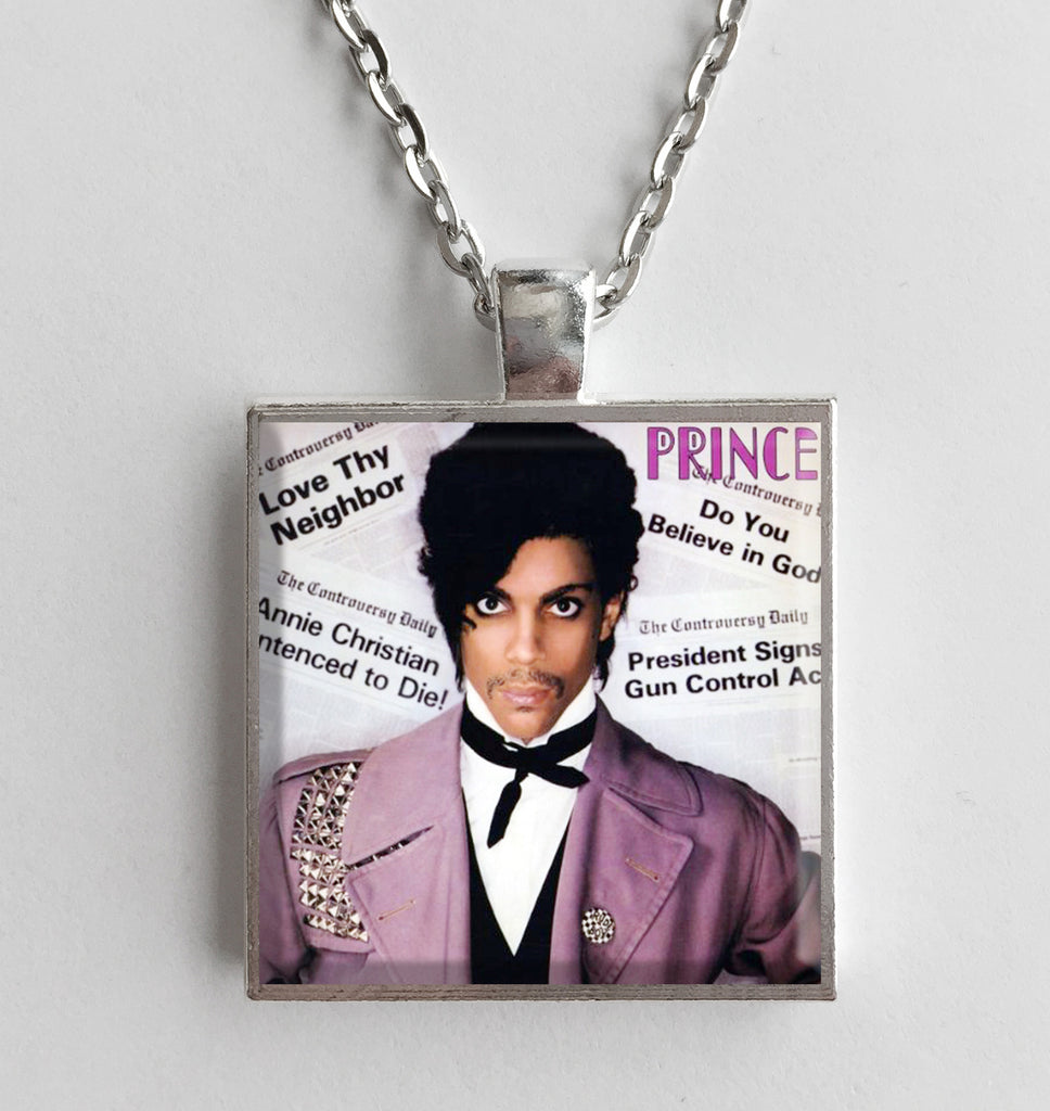 Prince - Controversy - Album Cover Art Pendant Necklace - Hollee