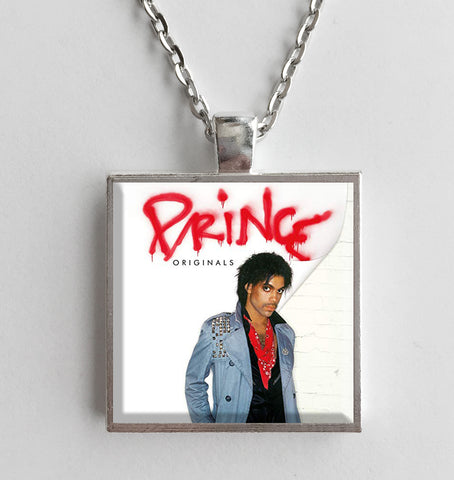 Prince - Originals - Album Cover Art Pendant Necklace - Hollee