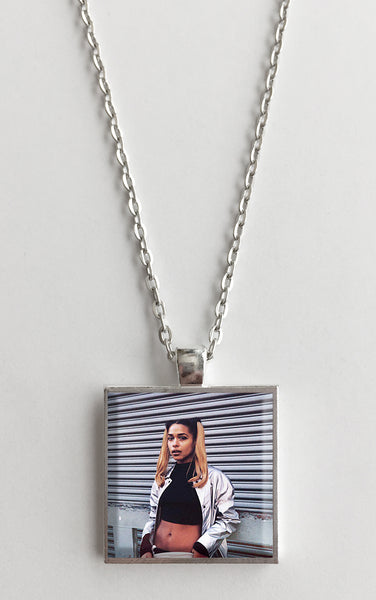 Princess Nokia - Metallic Butterfly - Album Cover Art Pendant Necklace - Hollee