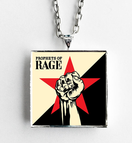 Prophets of Rage - Self Titled - Album Cover Art Pendant Necklace - Hollee