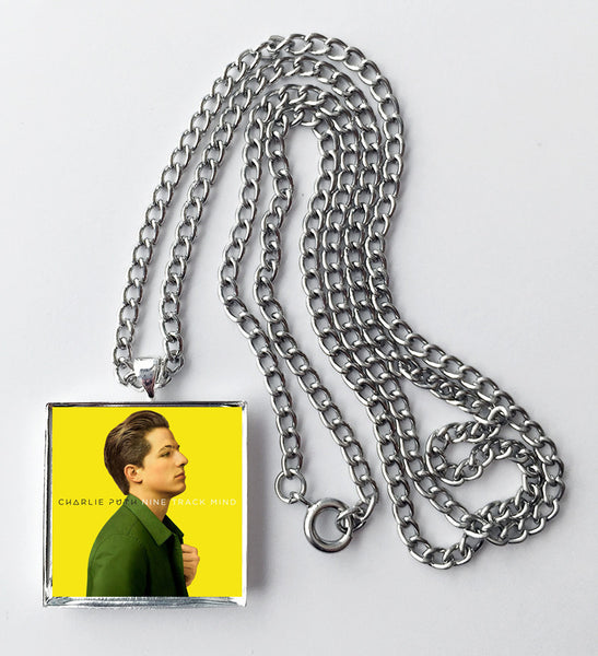 Charlie Puth - Nine Track Mind - Album Cover Art Pendant Necklace - Hollee
