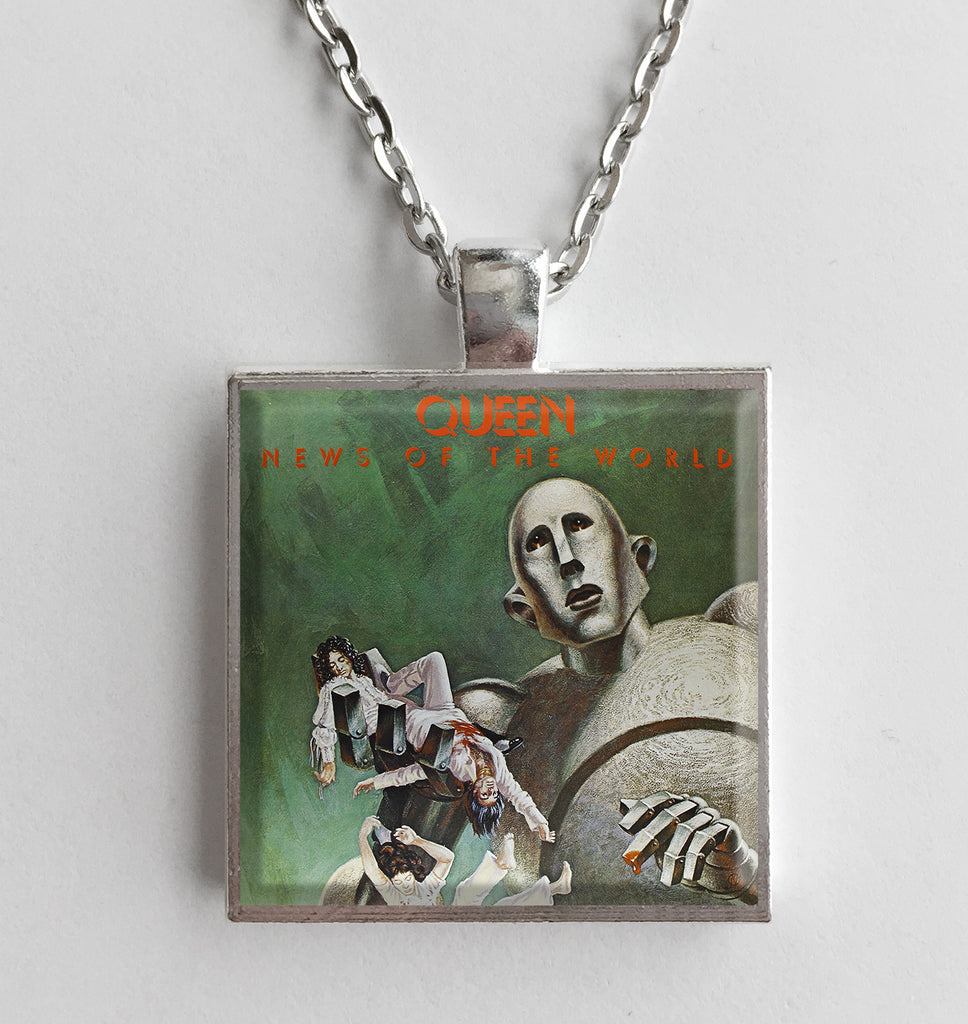 Queen - News of the World - Album Cover Art Pendant Necklace - Hollee
