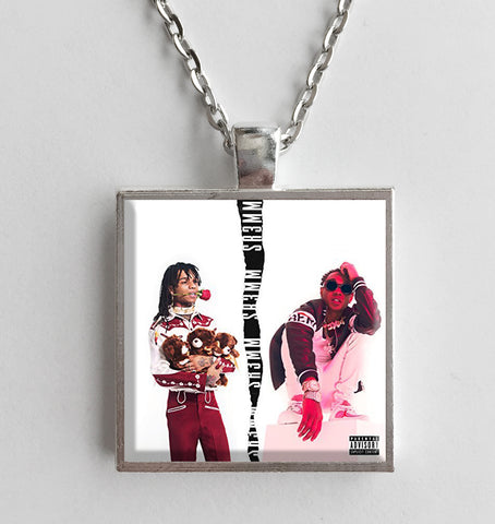 Rae Sremmurd - SR3MM - Album Cover Art Pendant Necklace - Hollee