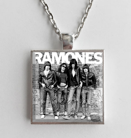Ramones - Self Titled - Album Cover Art Pendant Necklace - Hollee