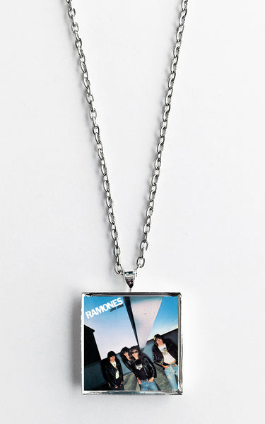 Ramones - Leave Home - Album Cover Art Pendant Necklace - Hollee