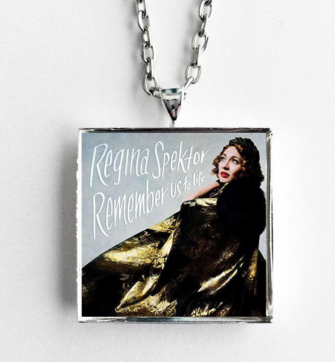 Regina Spektor - Remember Us to Life - Album Cover Art Pendant Necklace - Hollee