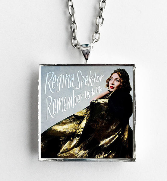 Regina Spektor - Remember Us to Life - Album Cover Art Pendant Necklace
