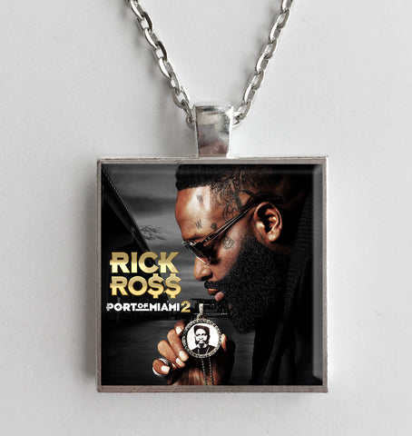 Rick Ross - Port of Miami 2 - Album Cover Art Pendant Necklace - Hollee