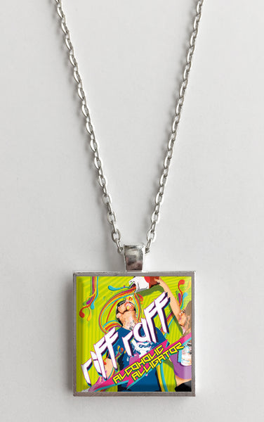 Riff Raff - Alcoholic Alligator - Album Cover Art Pendant Necklace - Hollee