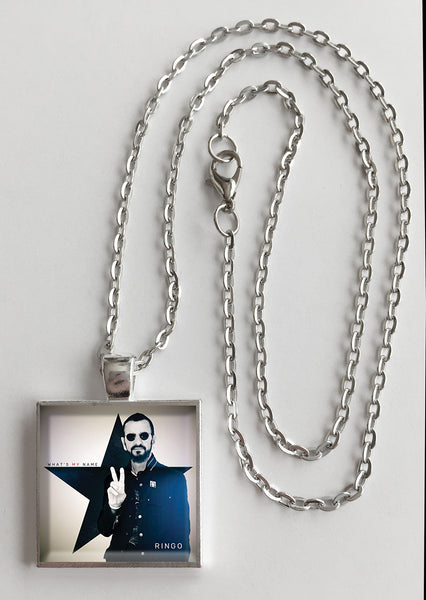 Ringo Starr - What's My Name - Album Cover Art Pendant Necklace - Hollee