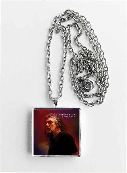 Robert Plant - Carry Fire - Album Cover Art Pendant Necklace - Hollee