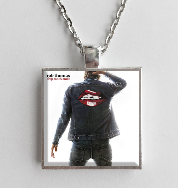 Rob Thomas - Chip Tooth Smile - Album Cover Art Pendant Necklace - Hollee