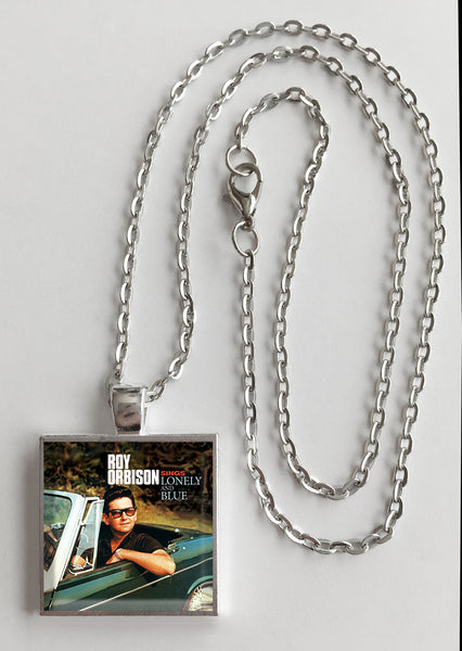 Roy Orbison - Sings Lonely and Blue - Album Cover Art Pendant Necklace