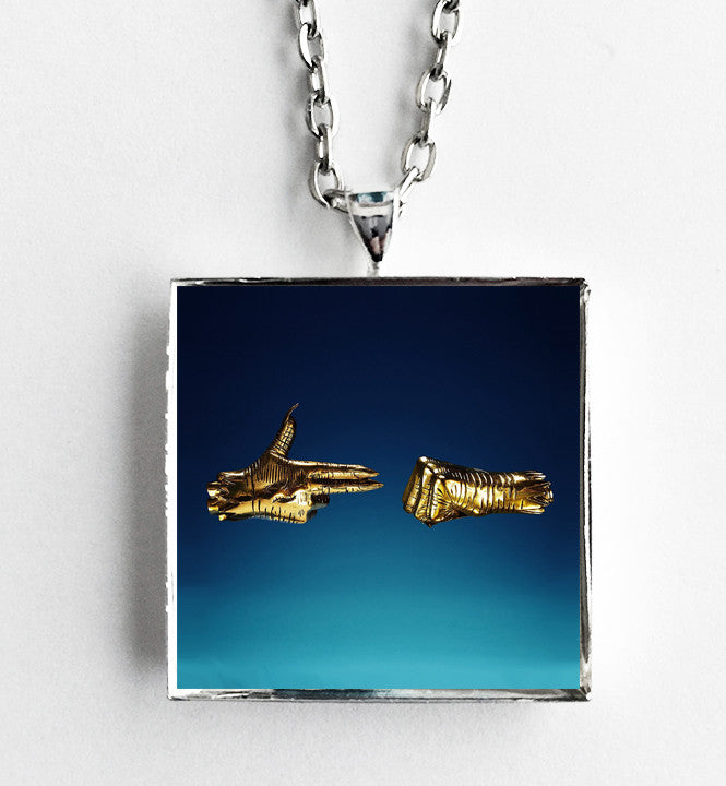 Run the Jewels - Run the Jewels 3 - Album Cover Art Pendant Necklace - Hollee