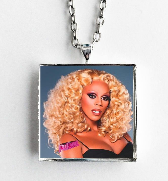 RuPaul - Drag Race - Album Cover Art Pendant Necklace - Hollee