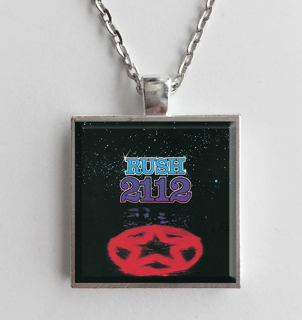 Rush - 2112 - Album Cover Art Pendant Necklace